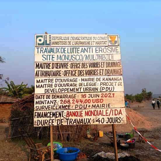 RDC/Kasaï-Central : le site Mulombodi abrite une fosse commune